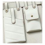 White 2 waist bag