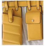 Yellow waist bag