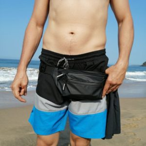 Alpha Men's Durable Waterproof Fanny Pack