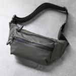 B Green waist bag