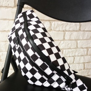 Jordan Checkered Fanny Pack
